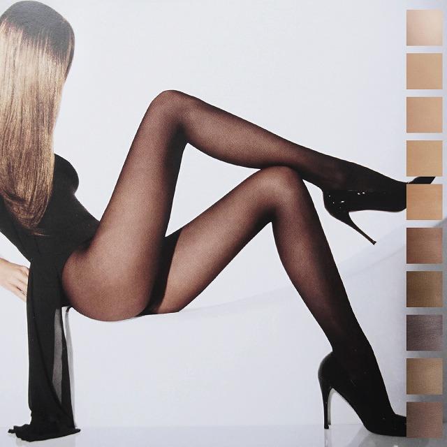 パンストを履いた女の人の美脚
