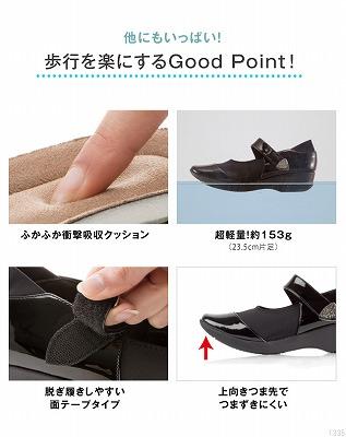 靴のベルトの部分の説明画像